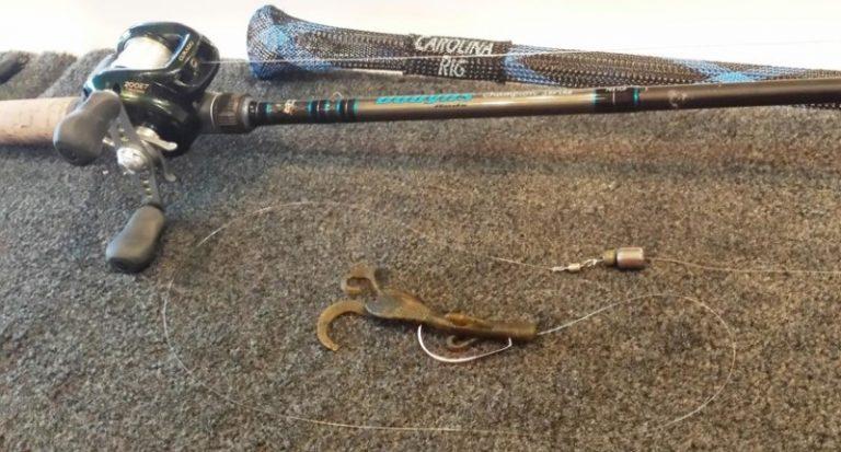 Ultimate guide to carolina rig fishing tackle scout for Carolina rig fishing