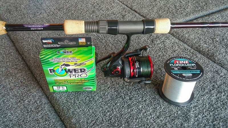 Drop Shot Fishing Setup