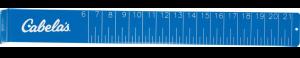 Cabelas Fish Measuring Board