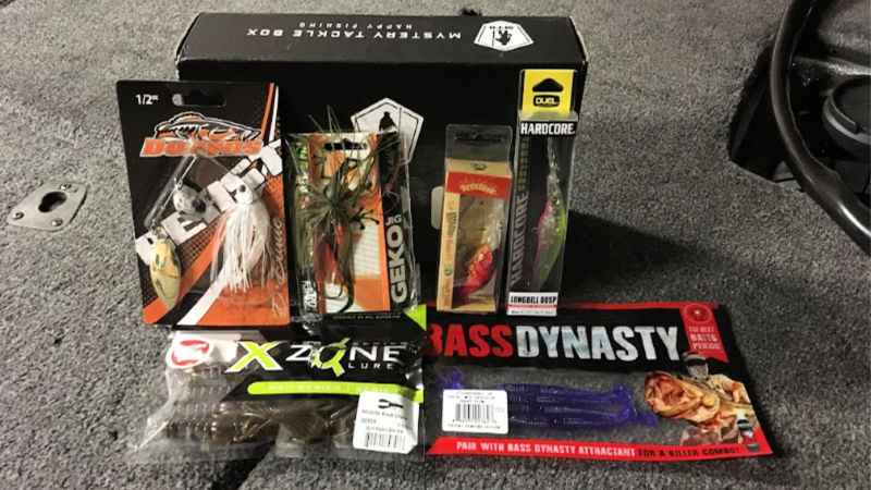 Mystery Tackle Box Review Box 8
