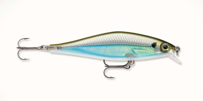Rapala Shadow Rap Shad - Moss Back Shiner